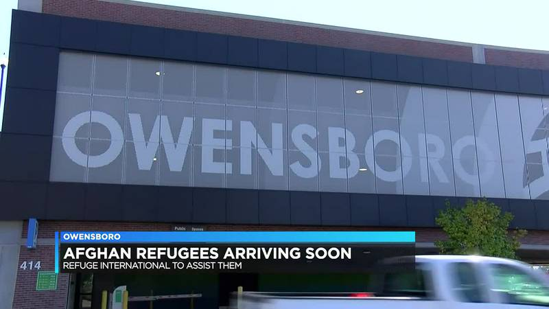 Afghan refugees arriving in Owensboro early October