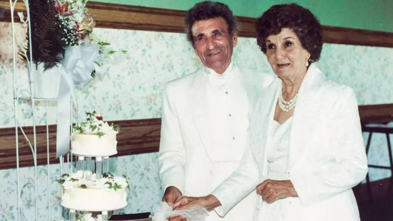 The couple tied the knot in 1935 and have been inseparable ever since.
