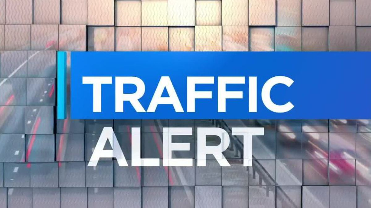 Traffic Alert: I-64 at 26 mm westbound lanes closed