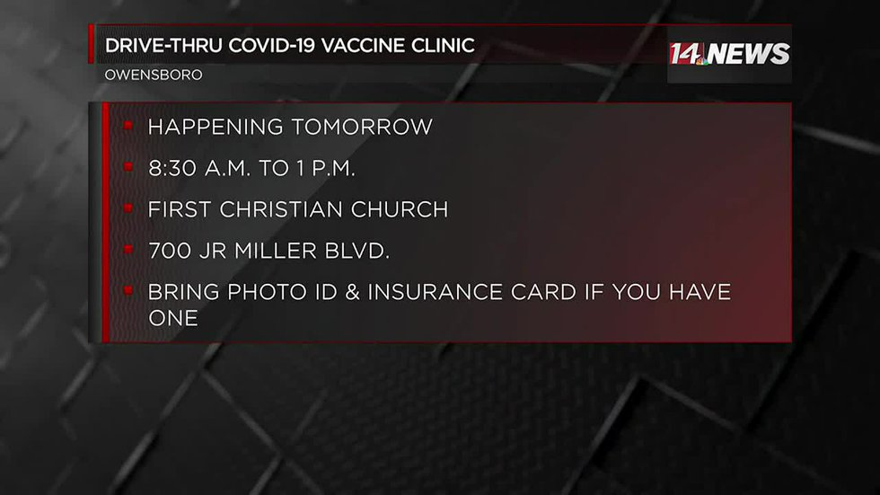 Owensboro Chamber of Commerce hosting vaccine clinic Thurs.