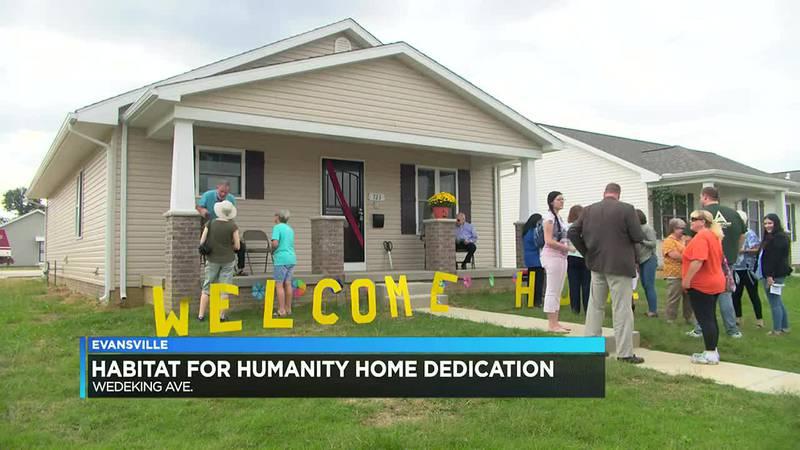Habitat homeowner puts in hard work for new house