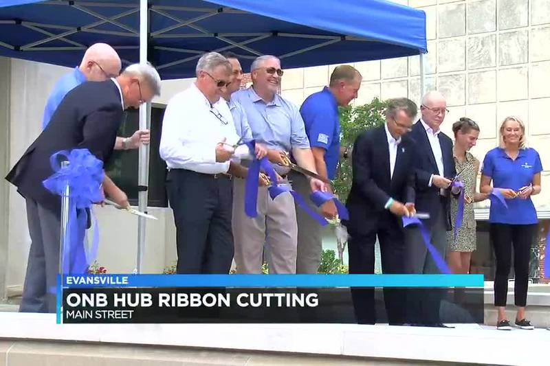 Ribbon-cutting held for new Old National Hub building