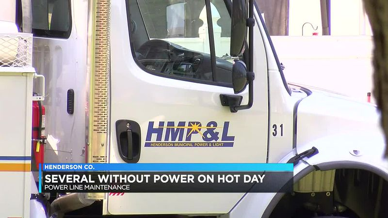Residents experience planned power outage in Henderson Co.