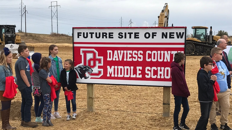 The new school is being built behind Gateway Commons off Fairview Drive in Owensboro. It'll be...