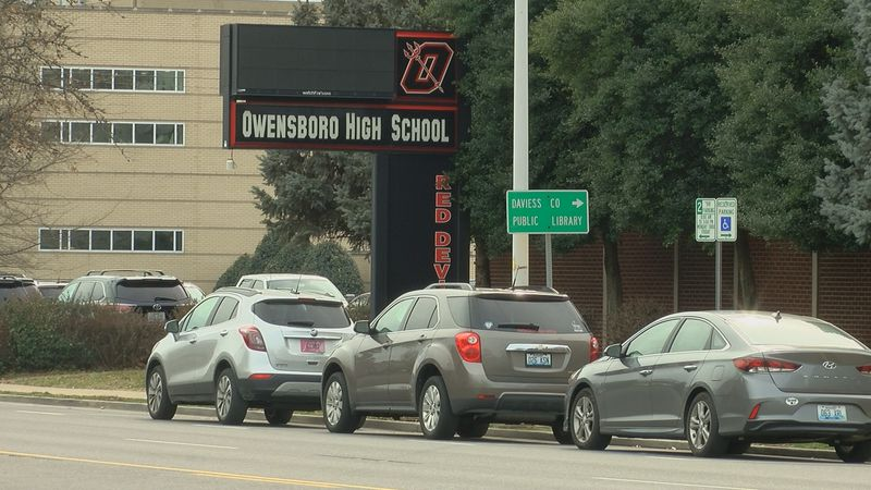 A district spokesperson says it's clear that most students would prefer an in person ceremony.