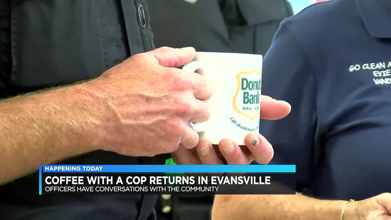 Coffee with a Cop returns in Evansville.
