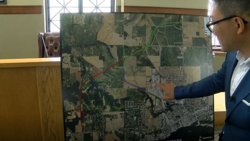 Plans unveiled for the Western Bypass in Posey County.