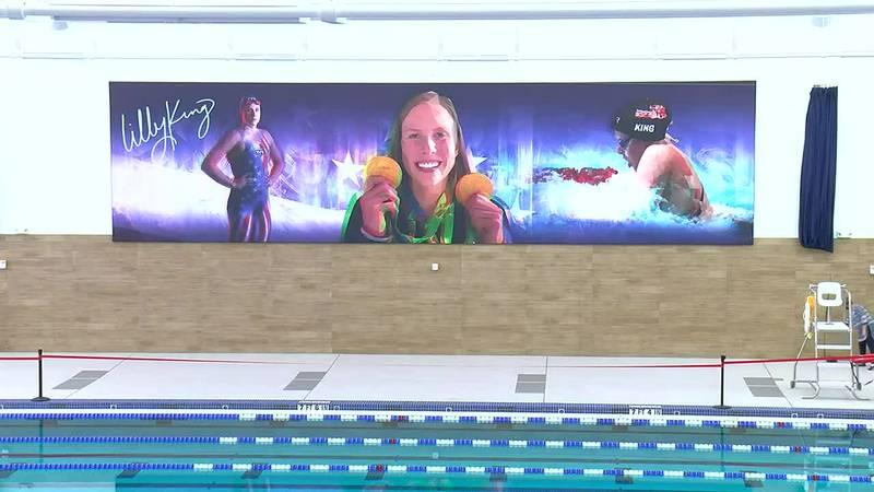 Deaconess Aquatic Center held a virtual dedication ceremony Friday
