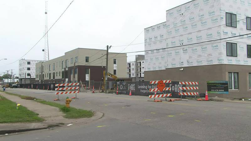 Housing leaders showcase progress at 'Forge on Main' housing units in downtown Evansville