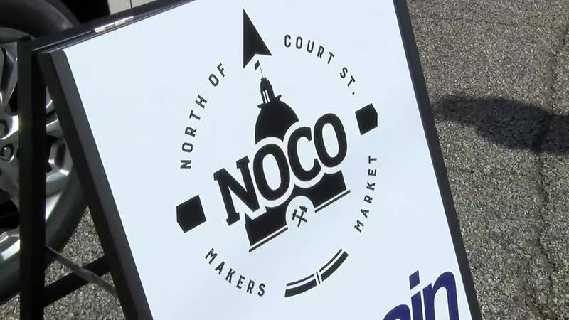 4th annual NoCo Makers Market held in downtown Evansville