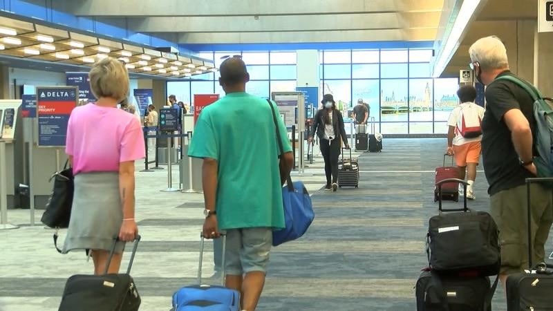Evansville Regional Airport's passenger traffic was up 20% on Friday.