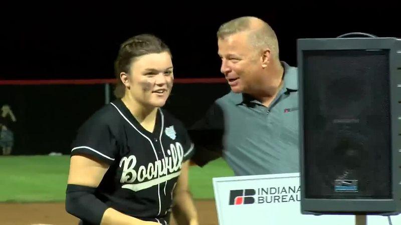 Boonville senior named Mental Attitude Award winner after softball team's state title win