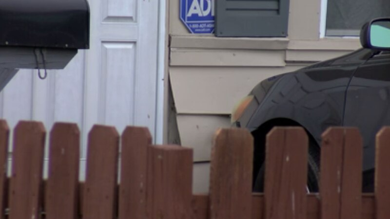 An Evansville homeowner had an unexpected guest on Thursday when a car crashed through a fence...