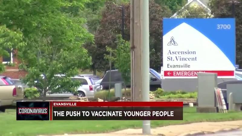 Ascension St. Vincent Evansville: Ages 12-15 should go to vaccine clinic for Pfizer shot when...