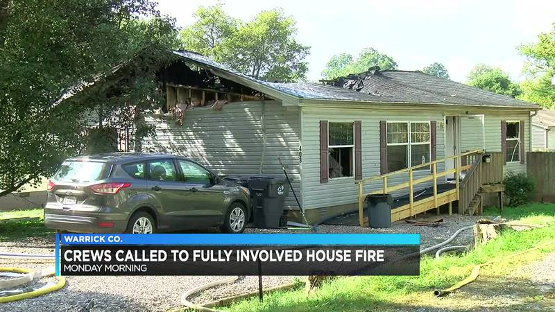 Newburgh home destroyed by fire, homeowner hurt
