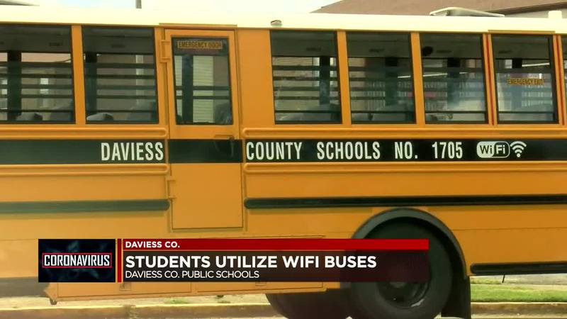 Daviess Co. Public Schools place WiFi buses throughout community