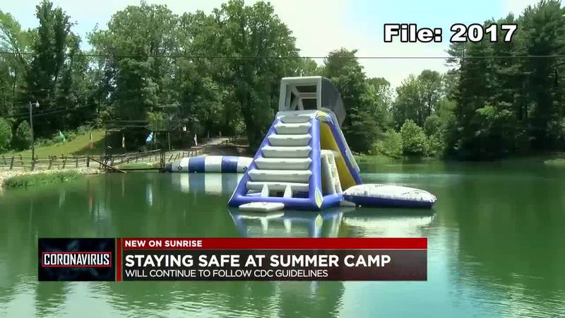 Staying safe at summer camps.