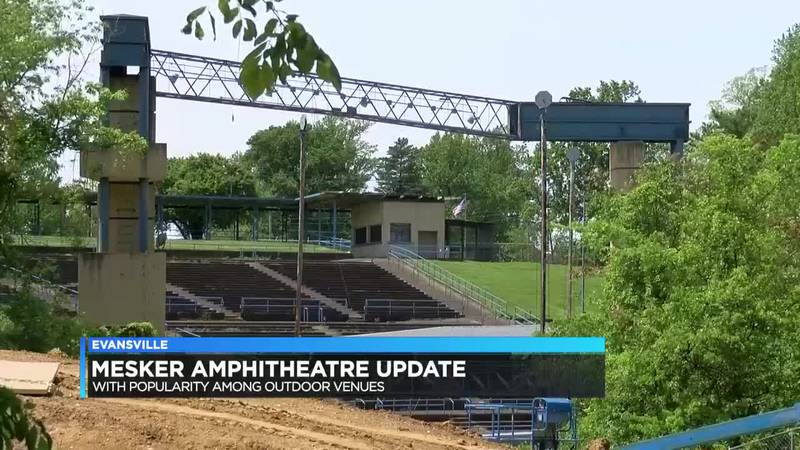 Mesker Amphitheatre still sits empty while other outdoor venues thrive during pandemic
