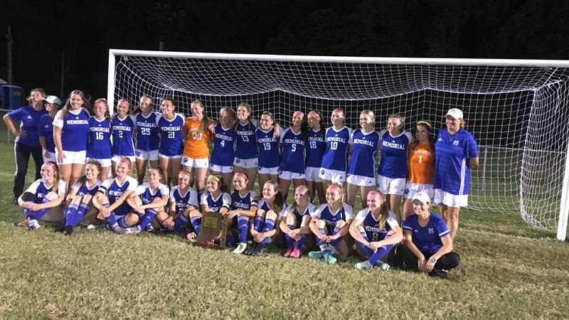 The Memorial girls soccer team took home the IHSAA Class 2A sectional championship on Saturday,...