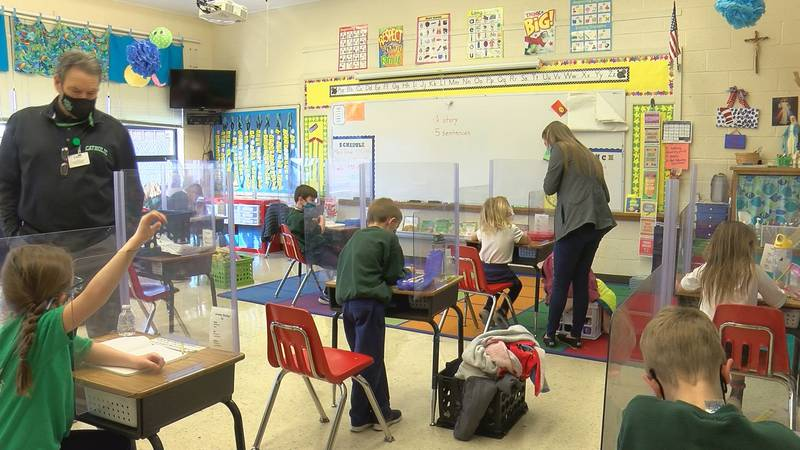 Students adjust to learning during global pandemic
