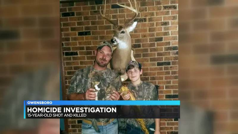 The father of a 15-year-old Owensboro teen shot and killed speaks out