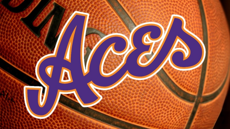 Lady Aces basketball.