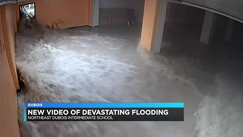 Northeast Dubois Co. School Corporation releases footage from Aug. 30 flooding