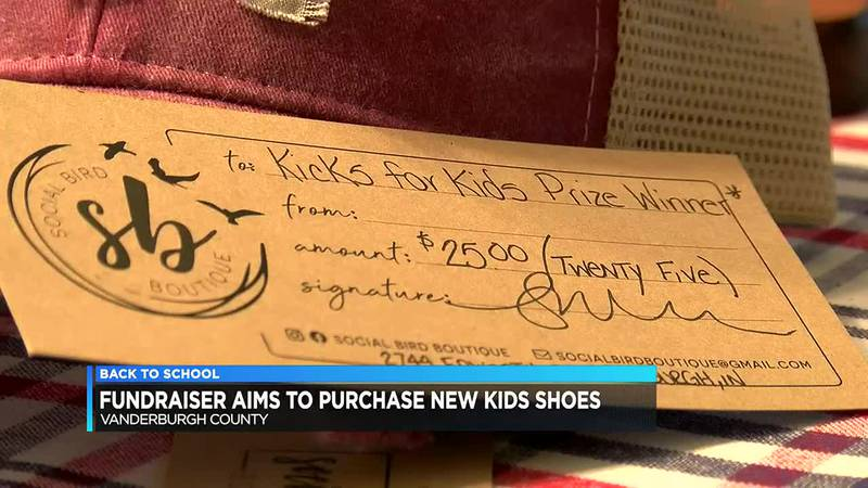 Vanderburgh Co. fundraiser aims to purchase new shoes for kids