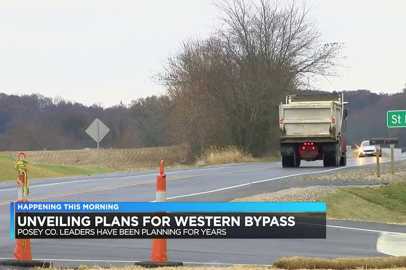 Plans expected to be unveiled for Western Bypass in Posey Co.