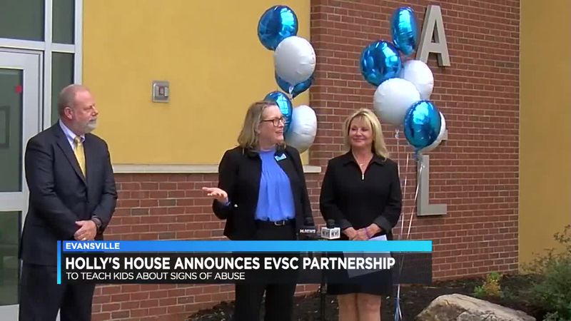 Holly's House announces partnership with EVSC