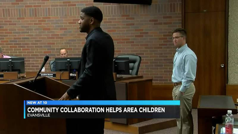 Community collaboration comes together for area children