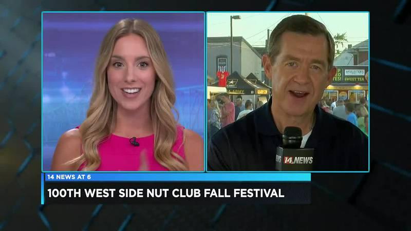 100th West Side Nut Club Fall Festival underway
