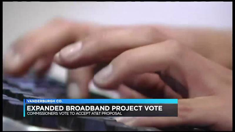 Vanderburgh Commissioners approve expanded broadband project