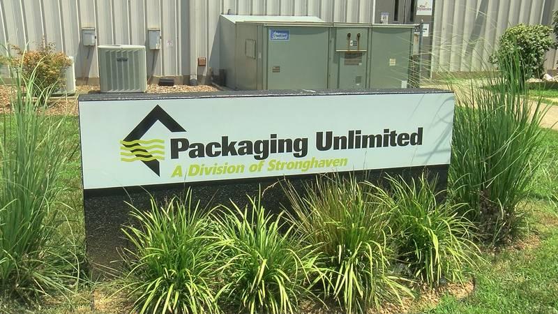 Packaging unlimited hosted a drive-thru job fair Wednesday.