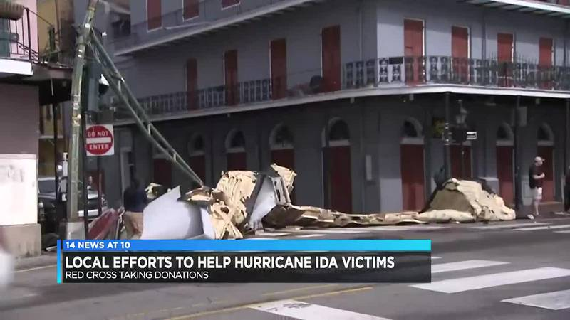 Local efforts pitch in to help Hurricane Ida victims