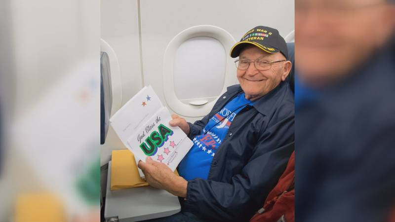 The Honor Flight organization is hoping you'll write some thank you letters for veterans who...