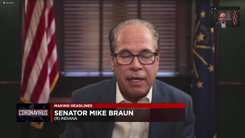 Mike Braun weighs in on vaccines and red flag law