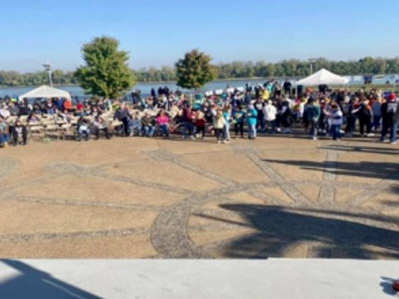 GRADSA supporters packed the Owensboro riverfront on Saturday for the annual Buddy Walk, which...