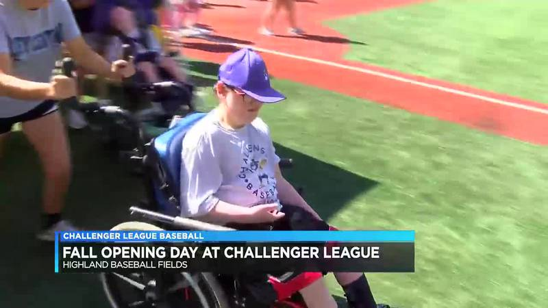 Challenger Baseball League holds opening day for 2021 fall season