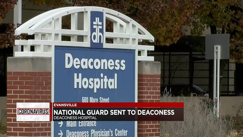 National Guard sends teams to Deaconess Midtown and Gateway Hospitals