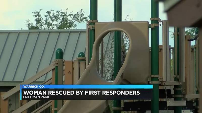 Sheriff's deputies rescue woman at Friedman Park