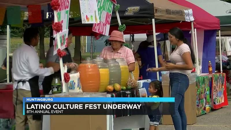Latino Culture Fest underway in Huntingburg
