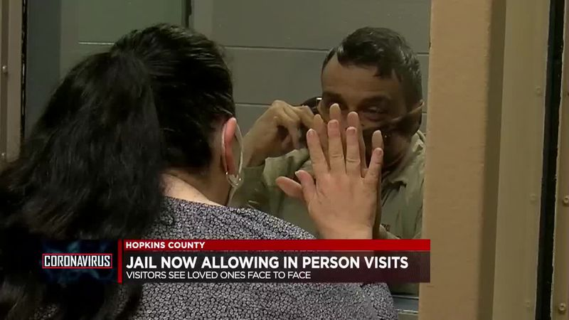 In-person visitation now allowed at Hopkins Co. Jail