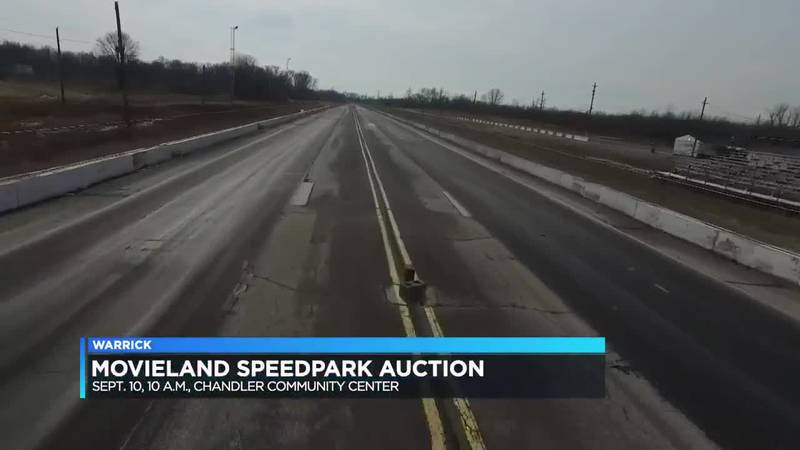 Movieland Speedpark back up for auction