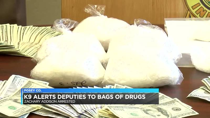 Posey Co. Sheriff: Drugs found in box under hood of car