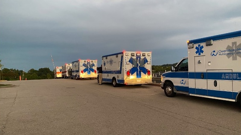 22 patients from a medical facility in Grayson County were transported to Owensboro after a...