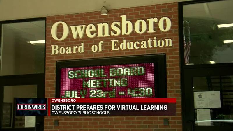 Owensboro Public Schools prepare for virtual learning