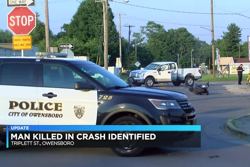 Police identify man who died after Owensboro collision.