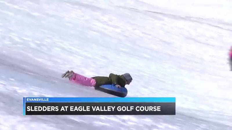 More sledders take advantage of the snow