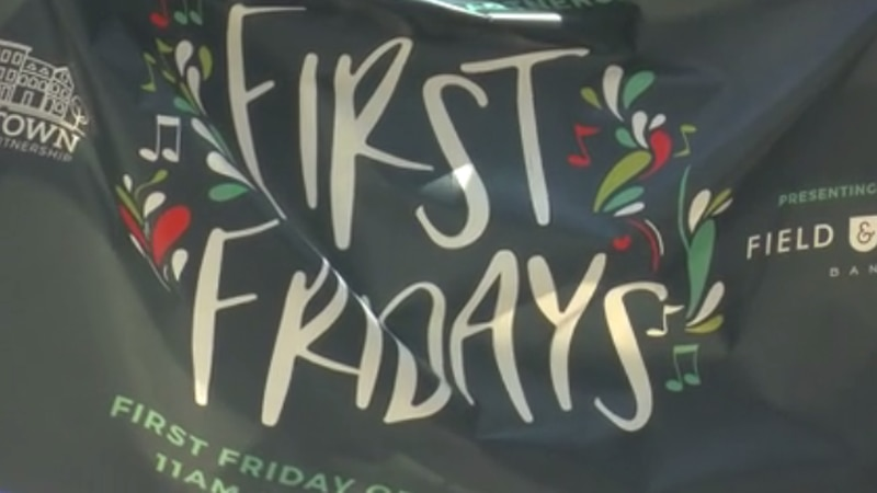 """Another edition of """"First Friday"""" took over downtown Henderson this weekend."""
